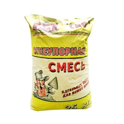 Смесь огнеупорная СПО (Боровичи) 25 кг УЦЕНКА*