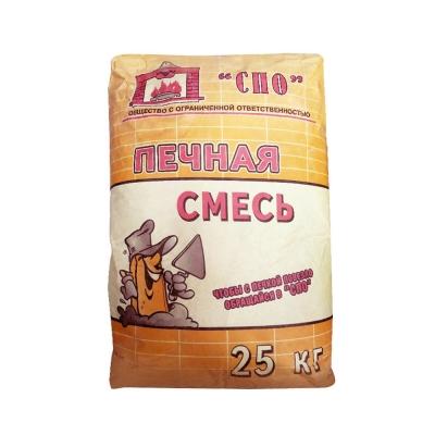 Смесь печная СПО (Боровичи) 25 кг