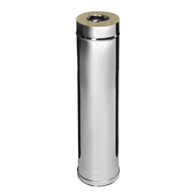 Сэндвич (AISI 430+нерж.сталь, 0.5 мм) d-115/200 мм 500 мм
