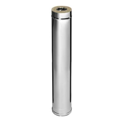 Сэндвич (AISI 430+нерж.сталь, 0.8 мм) d-115/200 мм 1000 мм