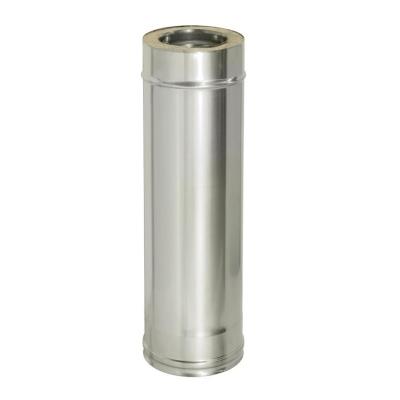 Труба термо ТТ-Р (AISI 430, 0.8-0.5 мм) d-150/210 мм 500 мм