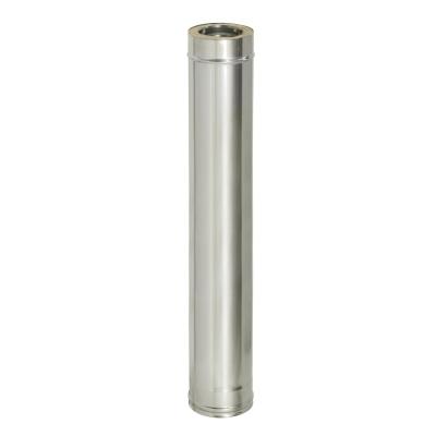 Труба термо ТТ-Р (AISI 430, 0.8-0.5 мм) d-150/210 мм 1000 мм