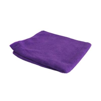 Тряпка для пола фиолетовый 40х50 см микрофибра Рыжий Кот M-02F
