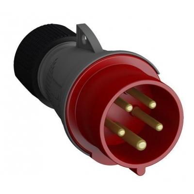 Вилка кабельная Easy&Safe 432EP6 32А 3P+N+E IP44 6ч ABB 2CMA101995R1000
