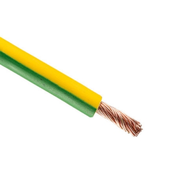 Провод ПуГВ 2.5 (бухта 15 м) желто-зеленый