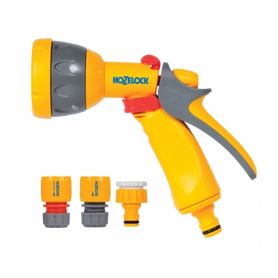 Набор для полива с пистолетом Multi Spray (5 режимов) HoZelock