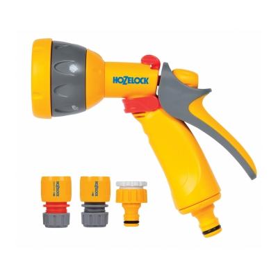 Набор для полива с пистолетом Multi Spray (5 режимов) HoZelock 2367