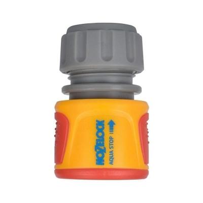 """Коннектор для шланга 1/2"""" HoZelock Classic AquaStop 2075"""