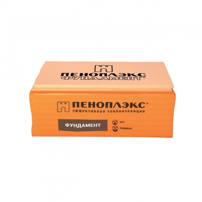 Пенополистирол экструдированный Пеноплэкс Фундамент 50х585х1185 мм (0.69 м²)