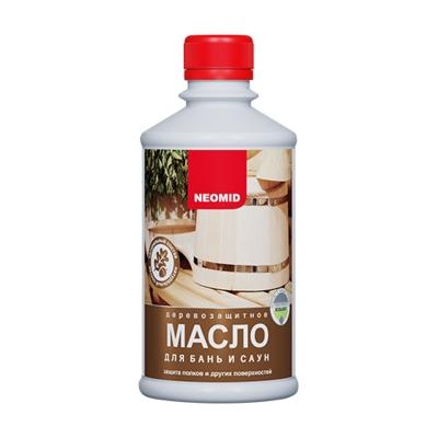 Масло для бань и саун NEOMID 0.25 л