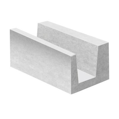 Газобетонный U-блок ЛСР D500 375х250х500 мм УЦЕНКА*