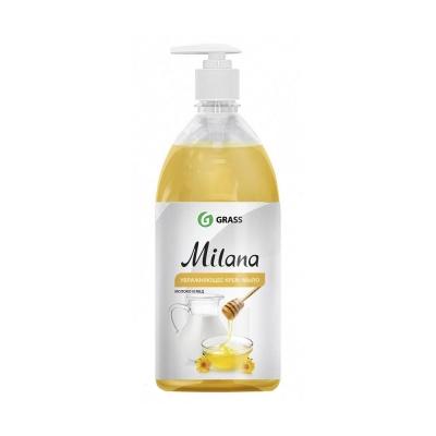 Крем-мыло жидкое молоко и мед Grass Milana 0.5 л