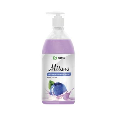 Крем-мыло жидкое черника в йогурте Grass Milana 0.5 л