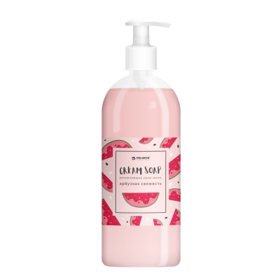 Мыло жидкое с ароматом арбузная свежесть Pro-Brite Cream Soap 1 л