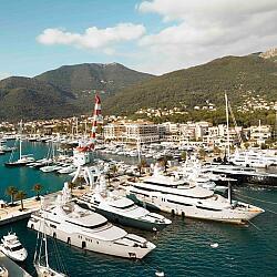 Ремонт и обслуживание яхт и катеров в Черногории