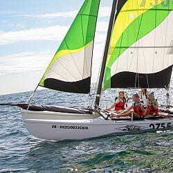 Знакомство с парусным яхтингом Сочи