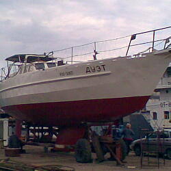 CUSTOM SAILBOAT 2005 - ДУЭТ