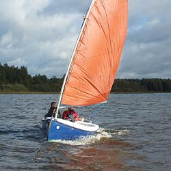 Sailboat TOM CAT 12FT