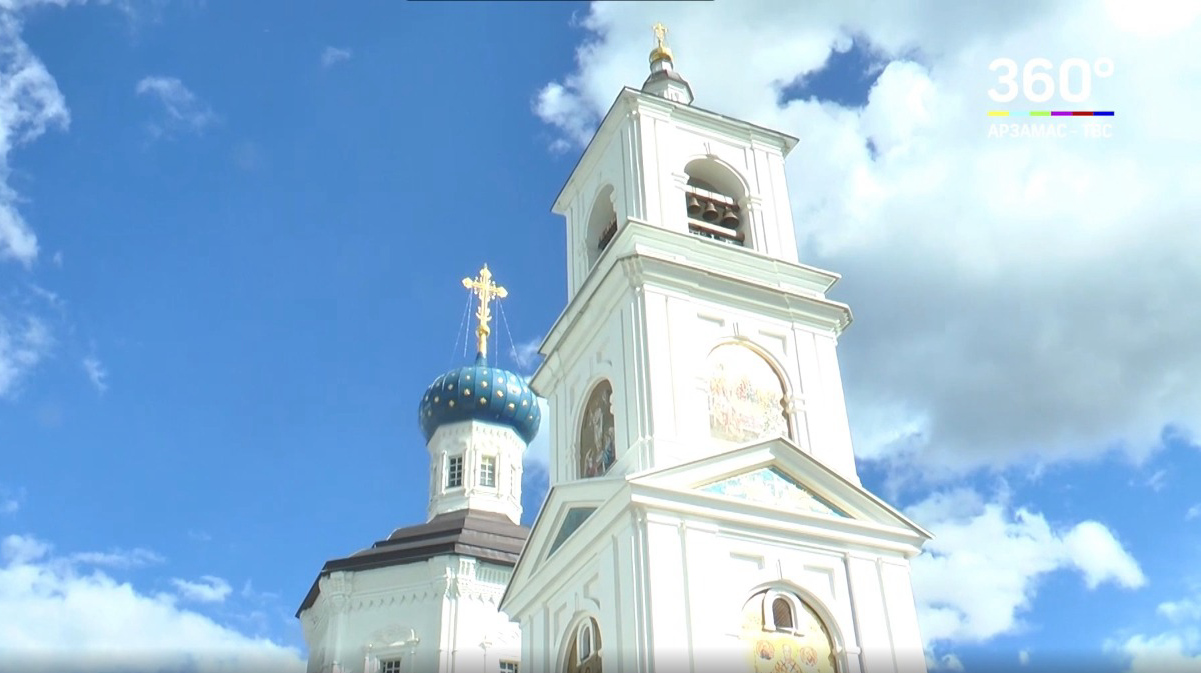 Фильм про Арзамасский Николаевский женский монастырь вышел на телеканале ТВС-Арзамас