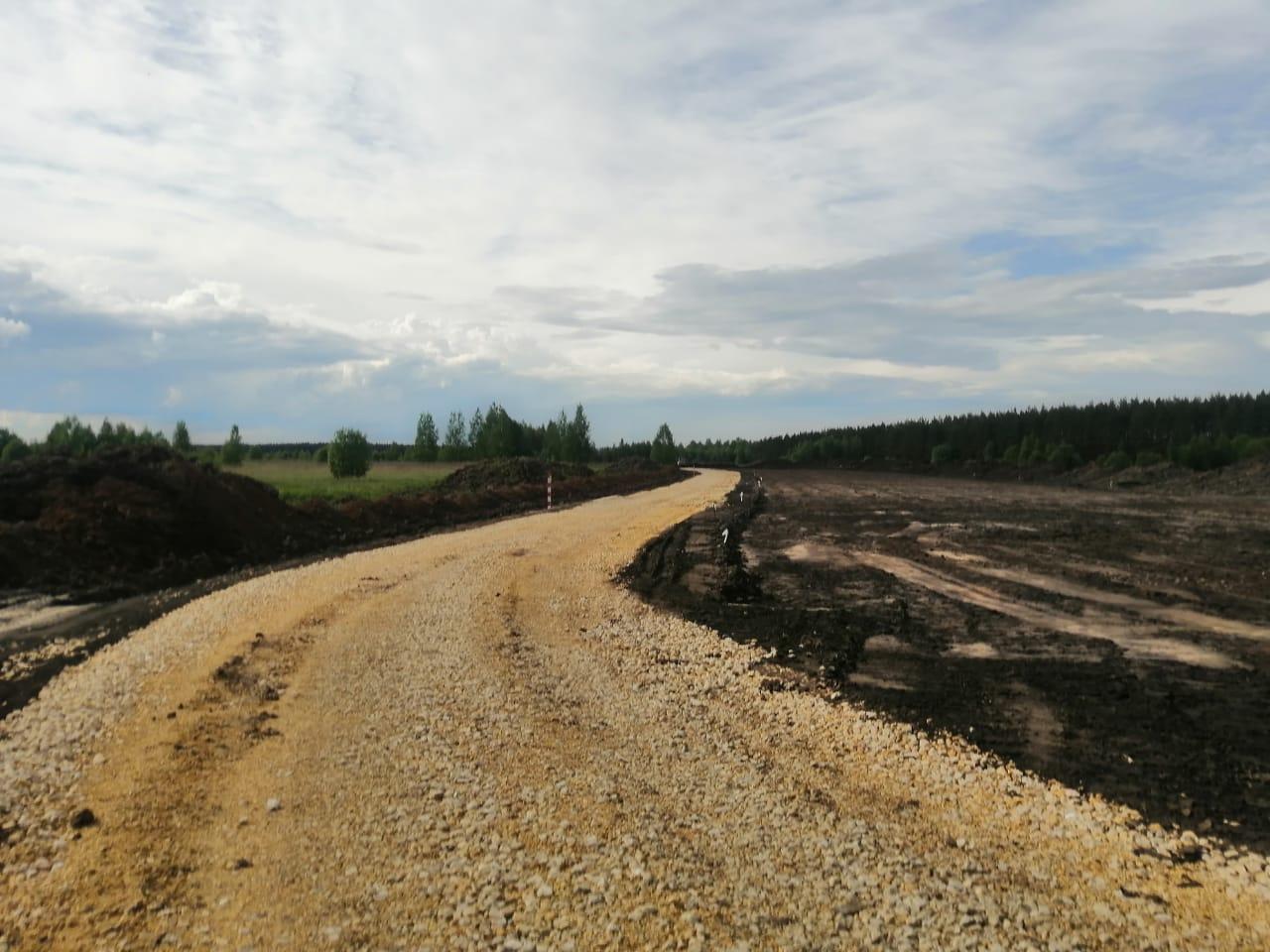 В Нижегородской области продолжается строительство северо-восточного обхода села Дивеева