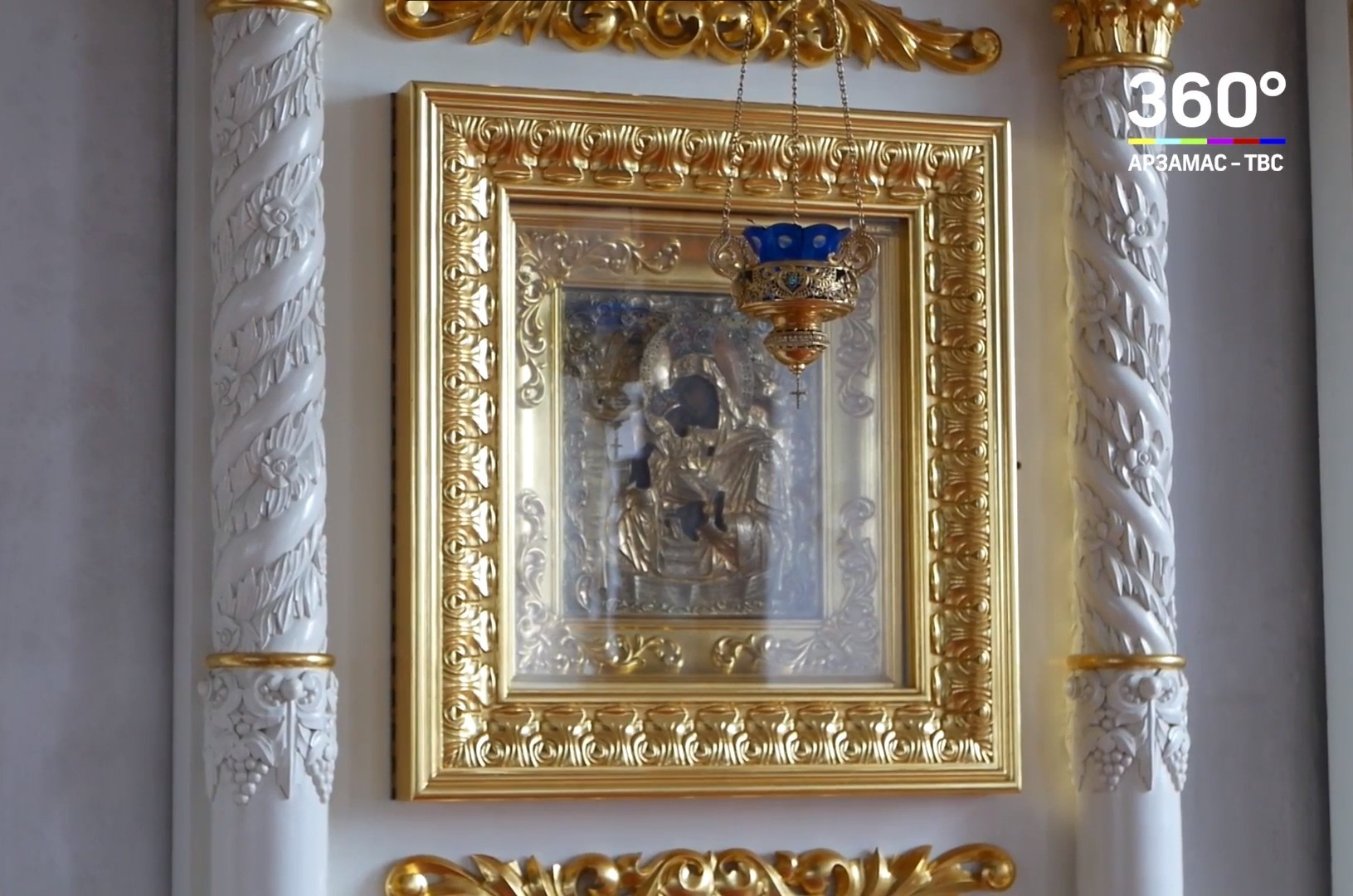 Видеосюжет про иконы Божией Матери «Достойно есть» вышел на телеканале ТВС-Арзамас