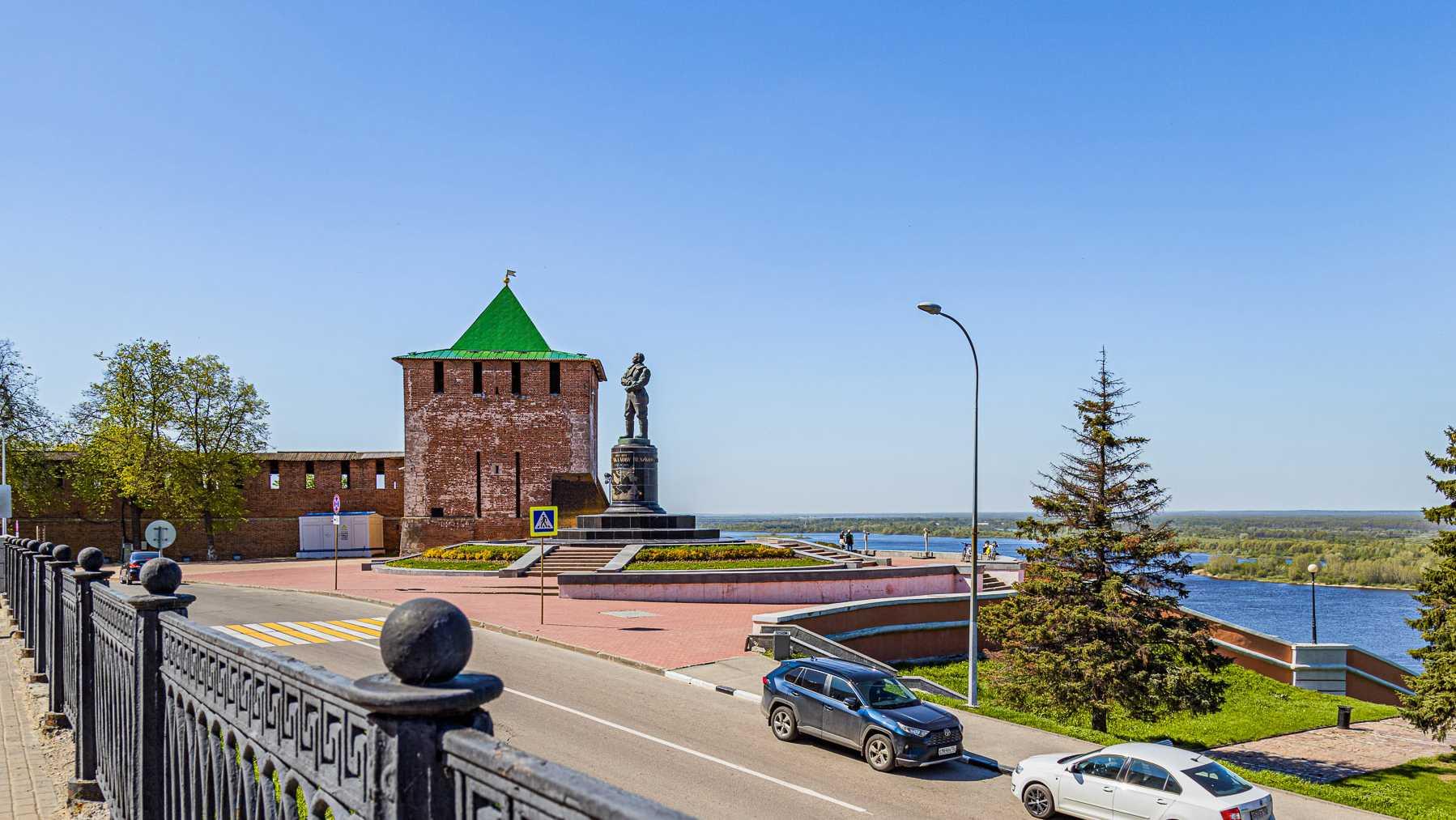 Нижегородский кремль открылся для посетителей