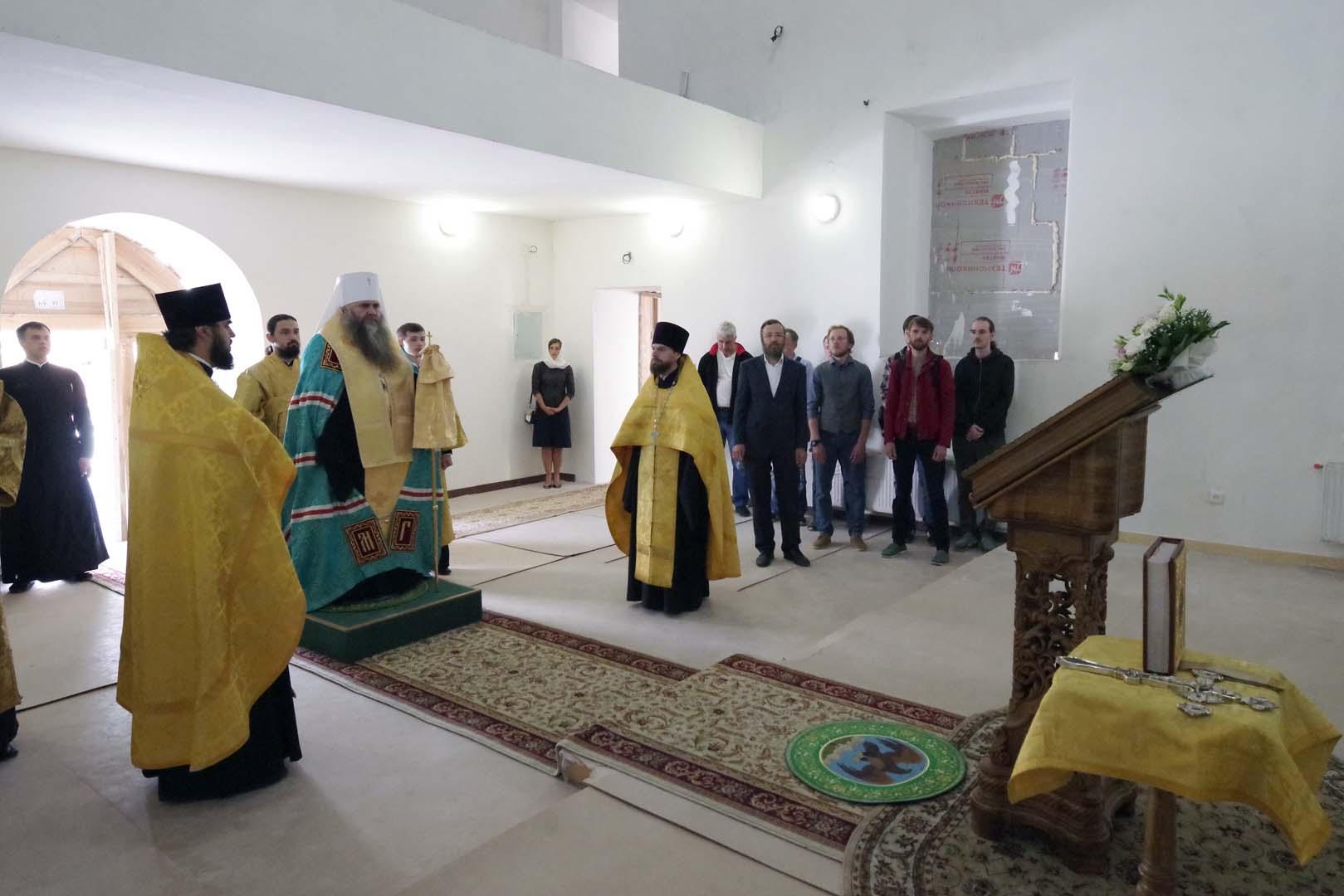 В храме в честь святителя Николая Чудотворца на территории Нижегородского кремля начнутся работы по росписи