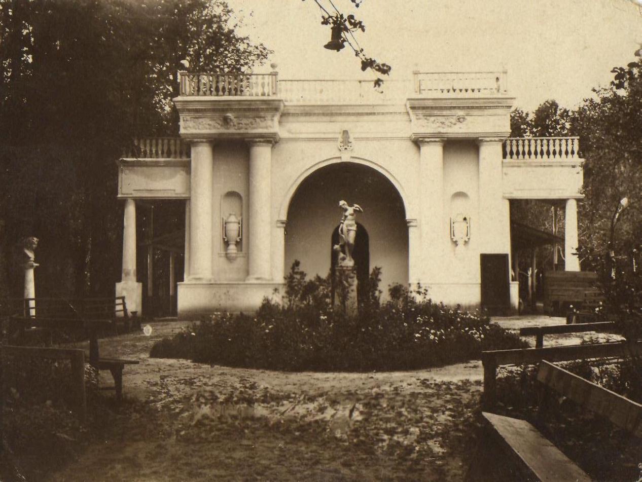 Летний театр 1920-1930-е гг.
