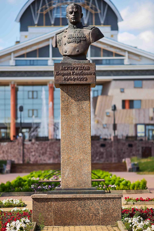 Памятник Борису Музрукову