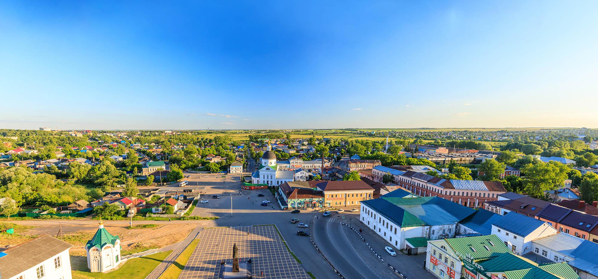 Арзамасская область: короткая страница в истории города