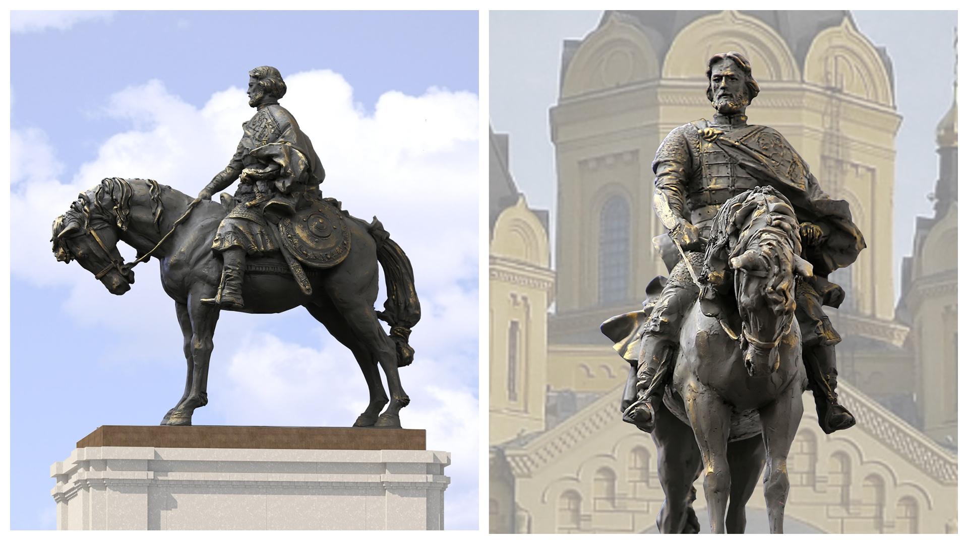 Стартовало голосование за эскиз памятника Александру Невскому, который будет установлен в Нижнем Новгороде
