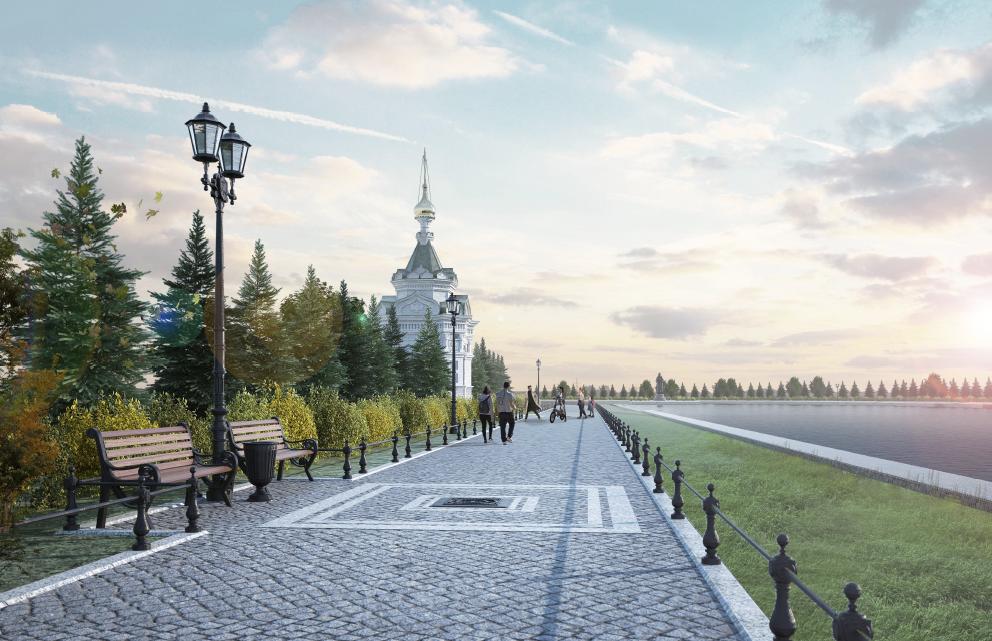 Завершен конкурс по выбору подрядчика для строительства набережной реки Вичкинзы в Дивееве
