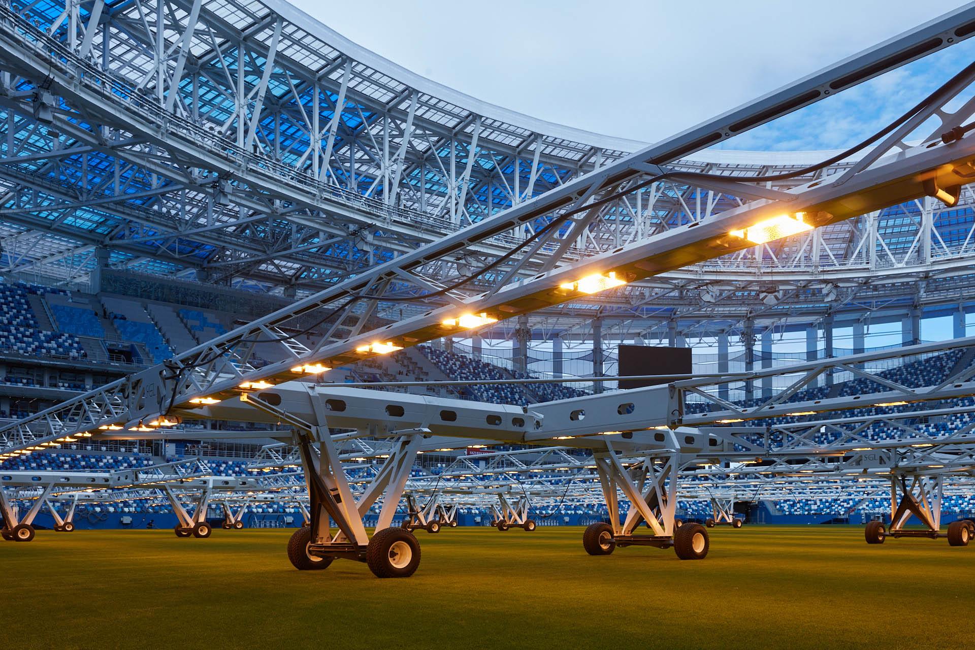 На стадионе «Нижний Новгород» возобновились экскурсионные туры