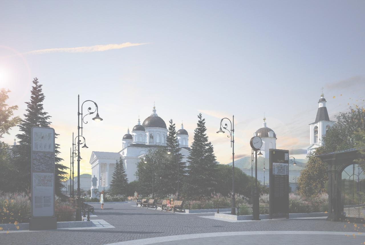 Соборную площадь в Арзамасе и прилегающие к ней территории планируется реконструировать в 2021 году