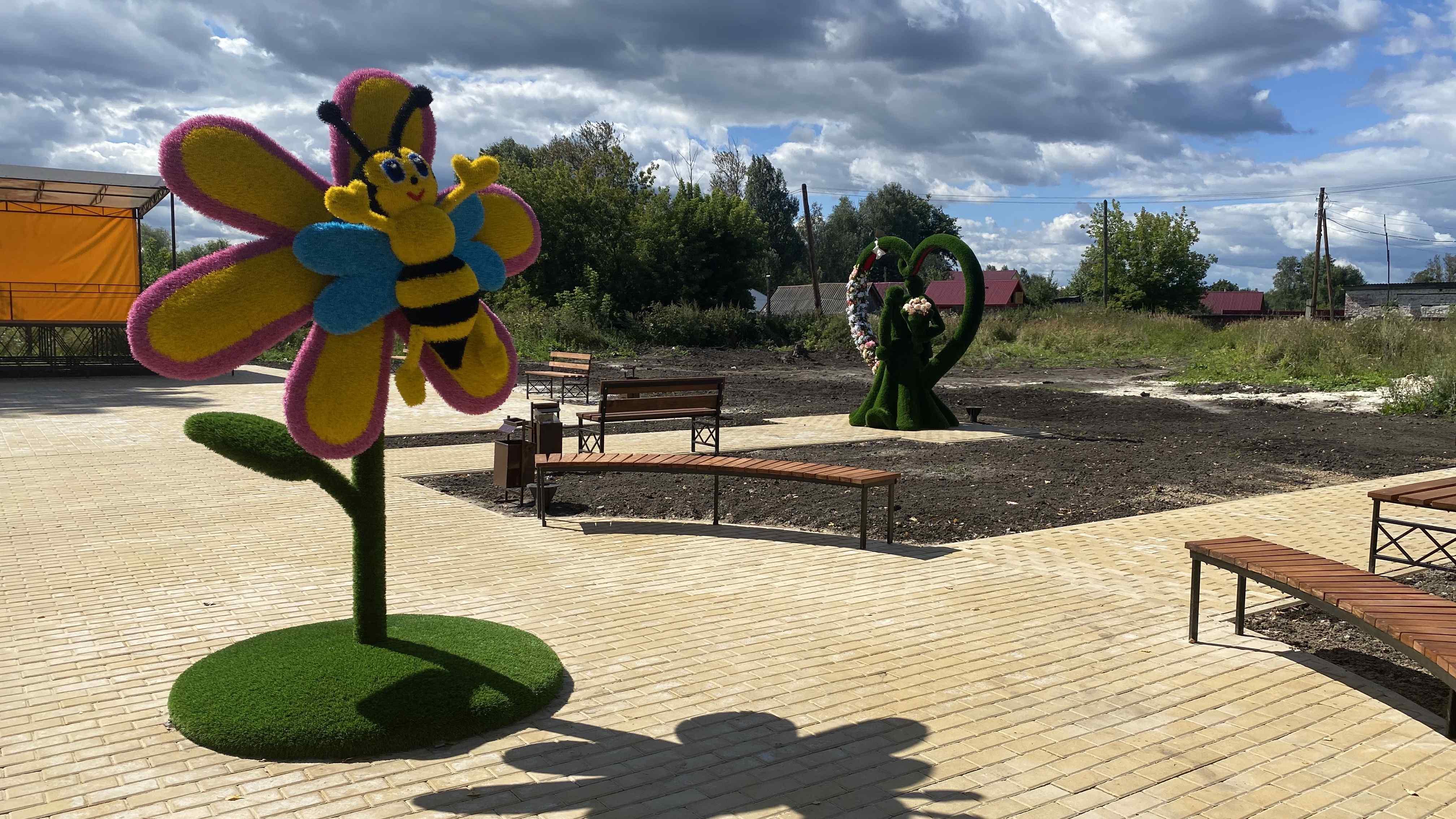 Парк «Золотая пчела» появился в селе Чернуха Арзамасского района