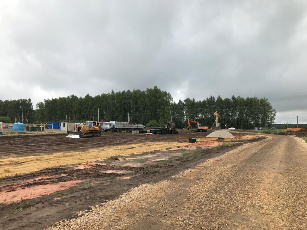 Продолжаются работы по строительству северо-восточного обхода Дивеева