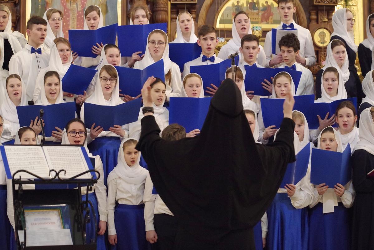 Хор дивеевской монастырской школы стал лауреатом I степени на московском хоровом фестивале