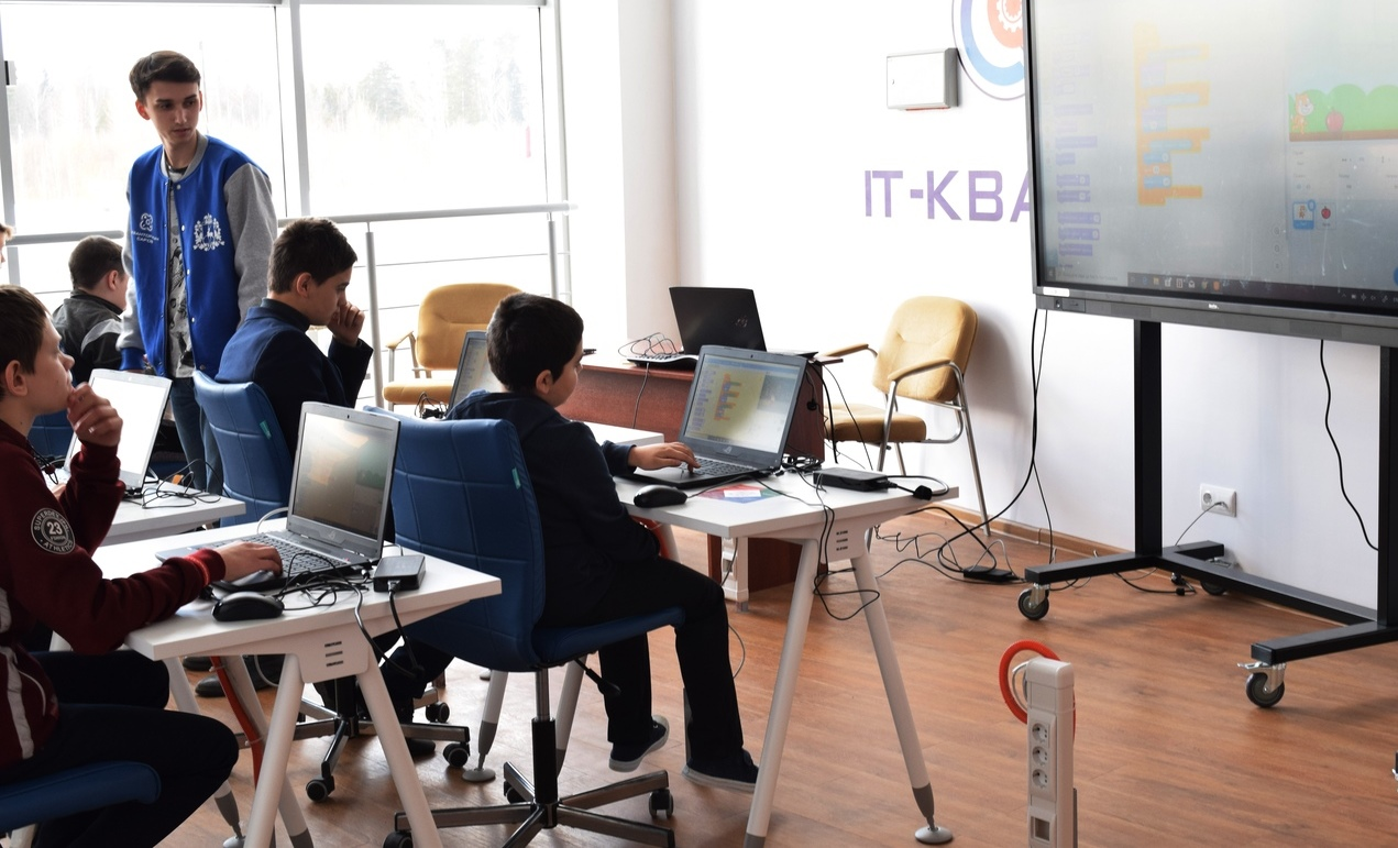 Детский технопарк «Кванториум Саров» открылся в поселке Сатис