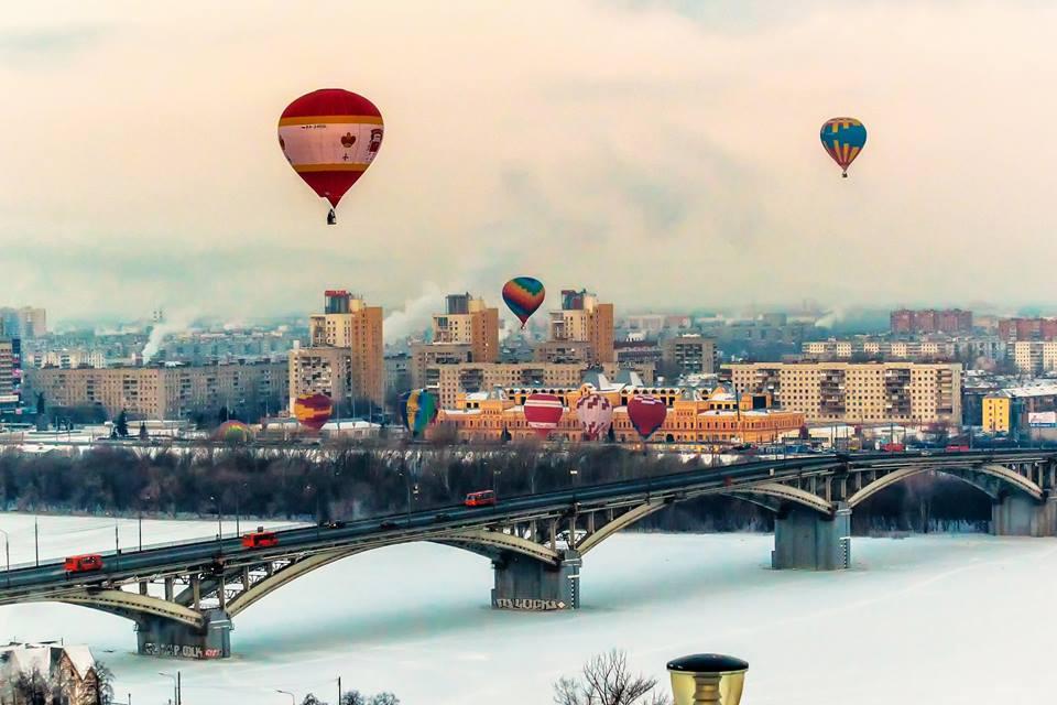 В Нижнем Новгороде пройдет гонка воздушных шаров на дальность