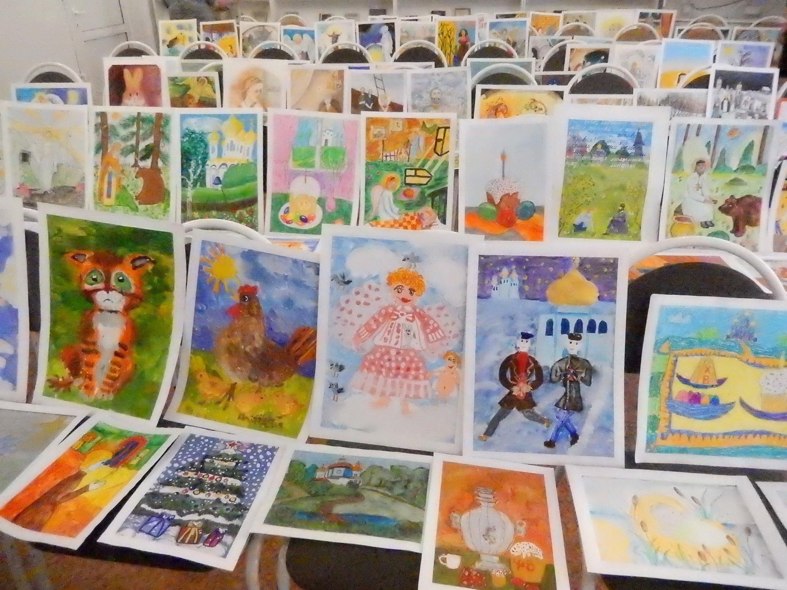 Нижегородская епархия приглашает к участию в детском конкурсе рисунков