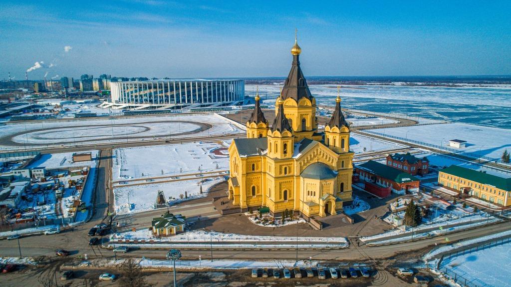 Нижегородская Стрелка вошла в топ-10 живописных мест России