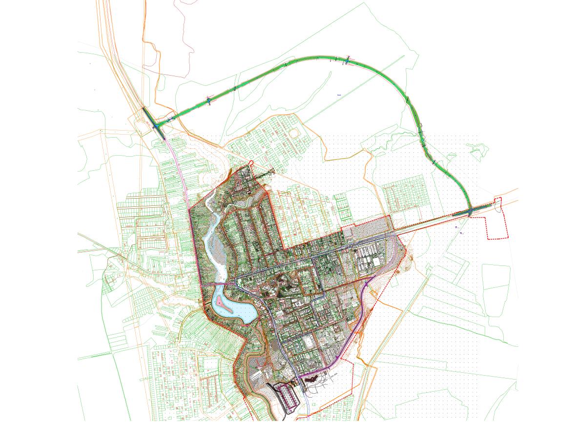 Началось строительство северо-восточного обхода села Дивеева