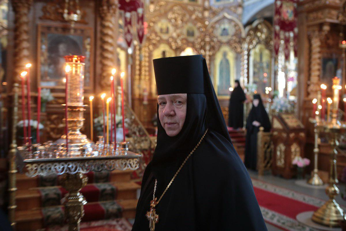 Обращение настоятельницы монастыря игумении Сергии (Конковой)