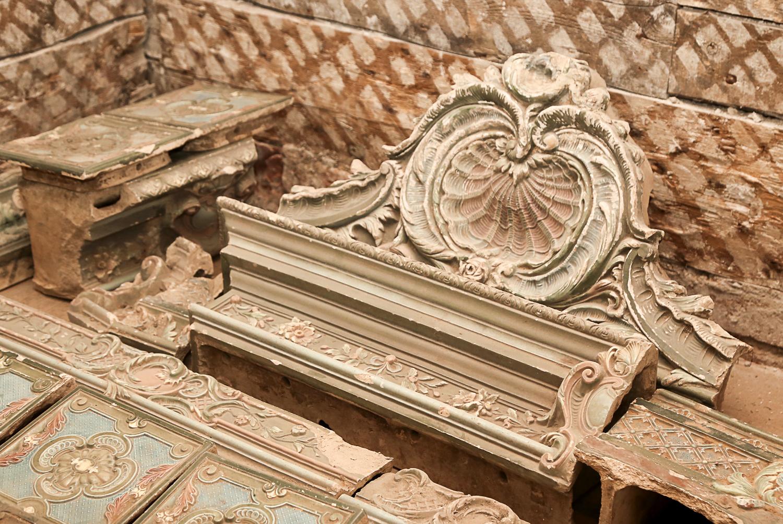 Уникальные объекты найдены в ходе реставрации здания Литературного музея в Нижнем Новгороде