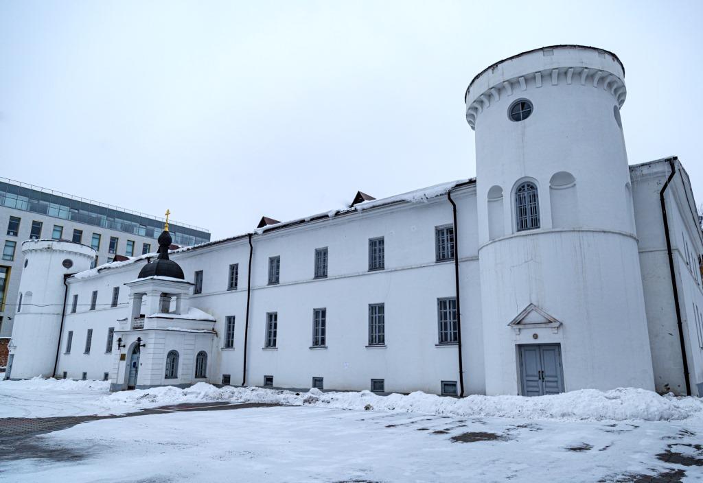 В храме на территории Нижегородского острога впервые за 100 лет прошло богослужение