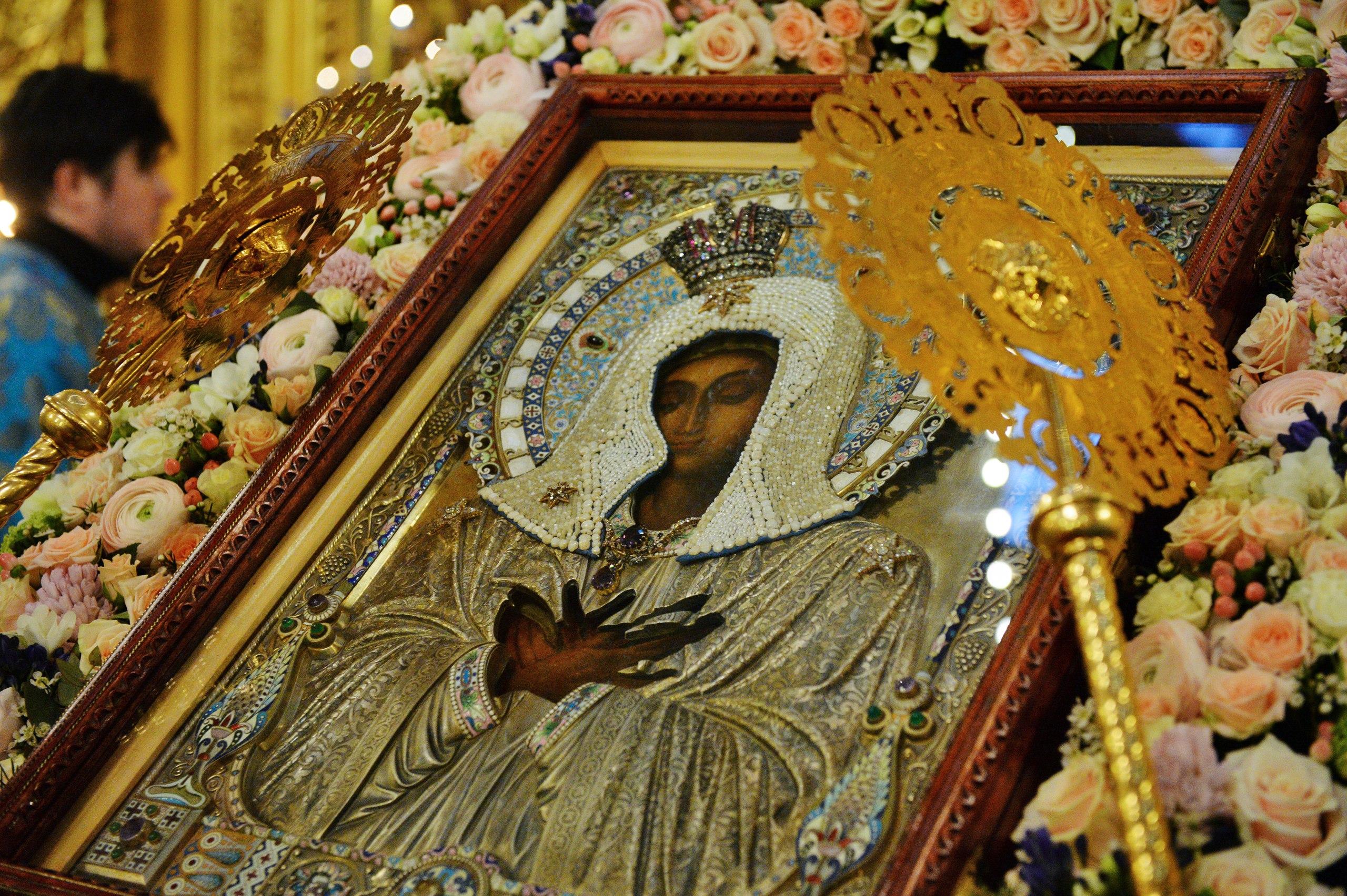 Патриарх Кирилл объедет Москву с Серафимо-Дивеевской иконой Божией Матери «Умиление»