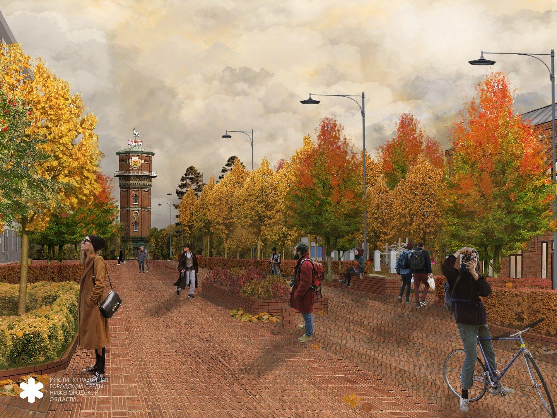 Предварительная концепция благоустройства улицы Карла Маркса представлена в Арзамасе