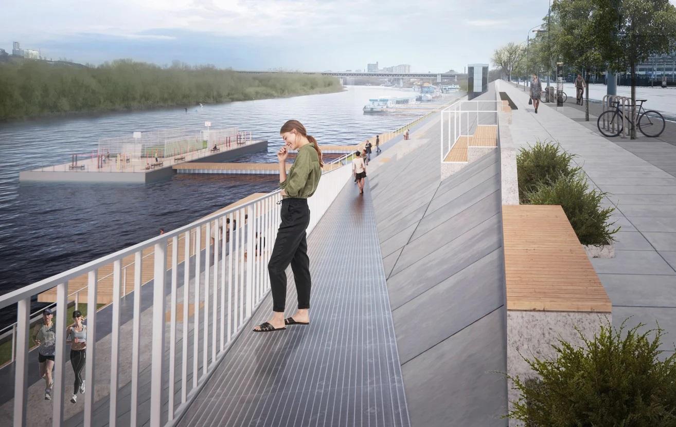 Предварительные концепции общественных пространств представлены в Нижнем Новгороде