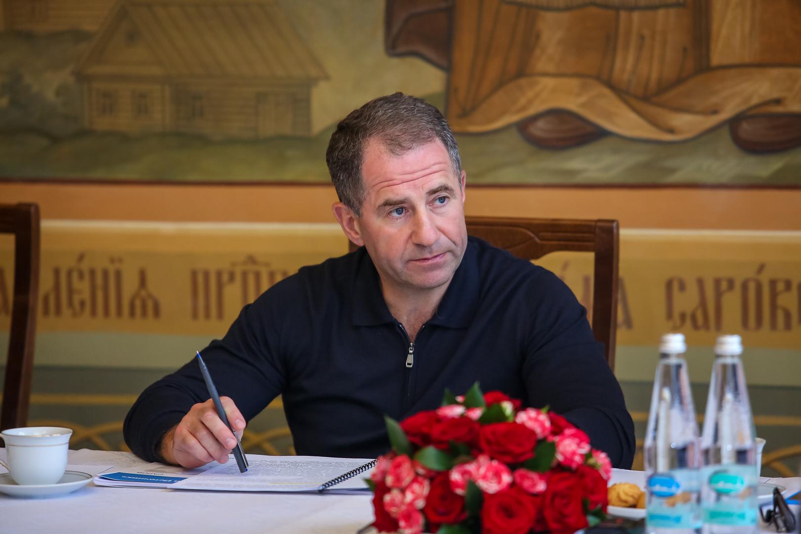 Михаил Бабич посетил Серафимову землю с рабочим визитом