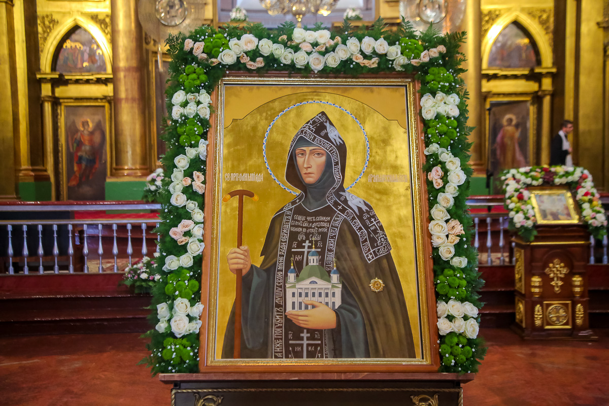 Знаменитые люди Серафимовой земли: преподобная Олимпиада Киевская и Арзамасская